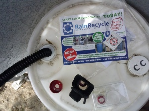 Rain Barrel Installation Kit